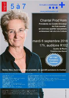 Affiche 5a7 Chantal Prod'hom