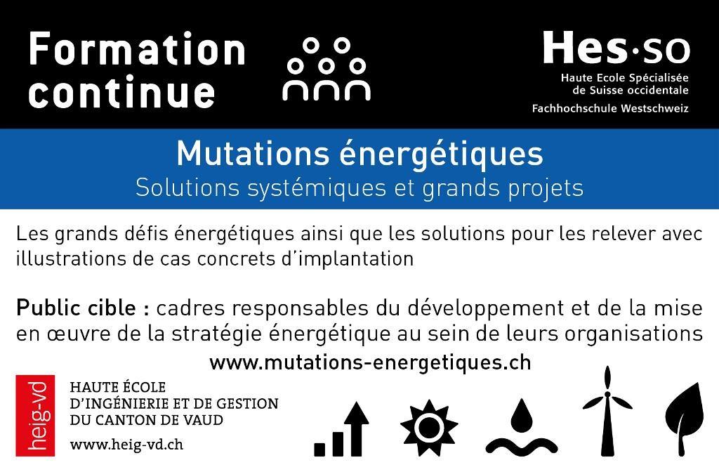 Annonce Mutations Energétiques